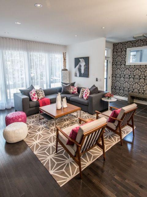 decoração sala de estar moderna