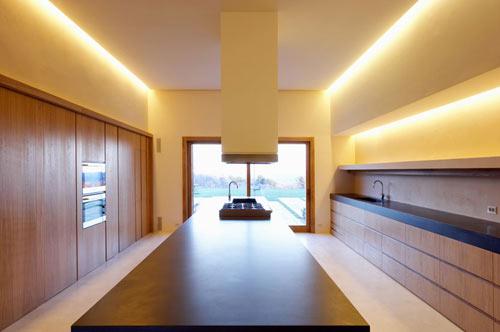 cozinha moderna e minimalista