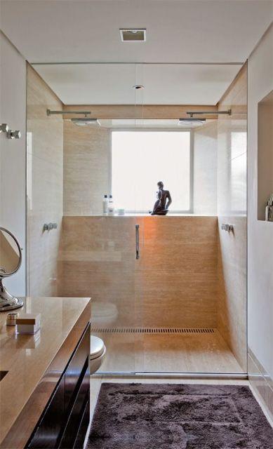 banheiro de mármore