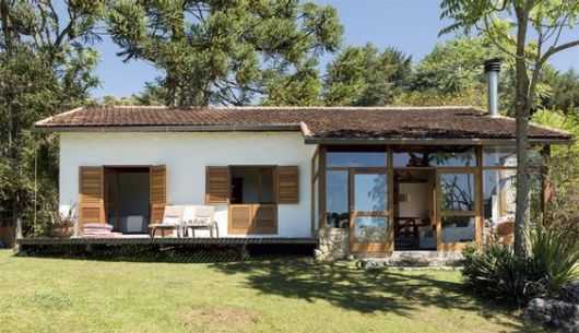 60 casas de campo projetos imperd veis modelos e plantas - Casas pequenas de campo ...