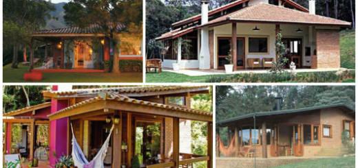 fachadas com varanda