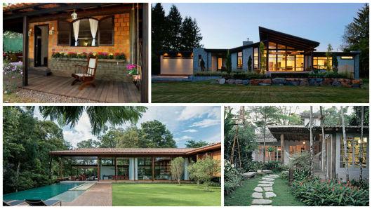 Casa de campo modelos projetos e plantas for Modelos de casas procrear clasica