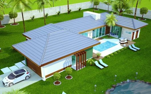 Casa de campo modelos projetos e plantas - Construir casa de campo ...