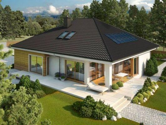 projeto com painel solar