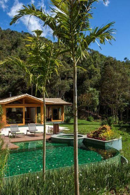 Casa de campo modelos projetos e plantas for Modelos de piscinas de campo