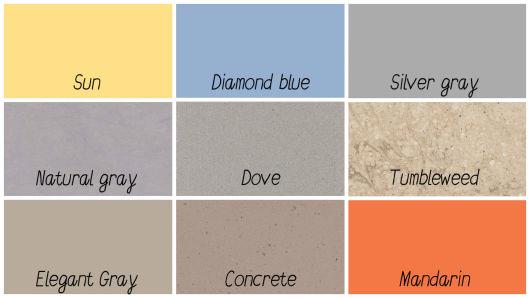 cores coloridas