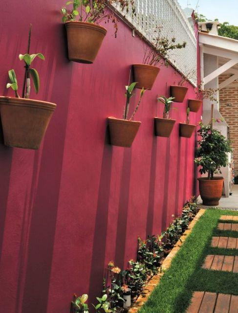 jardim vertical externo : jardim vertical externo:JARDIM VERTICAL: Tudo sobre! Veja ideias geniais!
