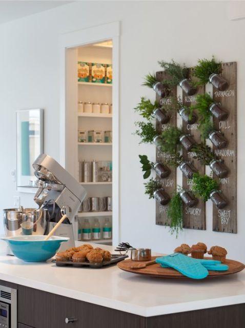 temperos na cozinha