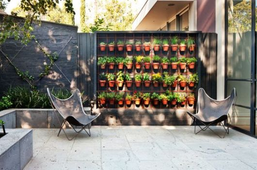 vasos decorativos com plantas
