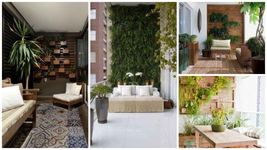 jardim vertical sacada:ideias para sacadas e varandas