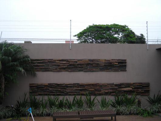 pedras decorativas muro
