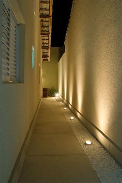 iluminação chão