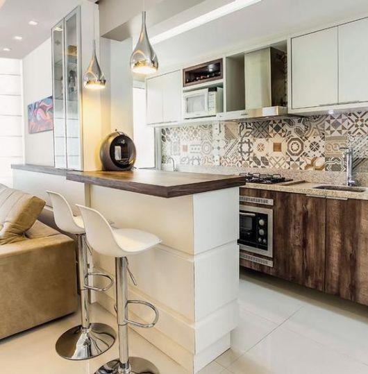 Revestimentos para cozinha 50 fotos for Imagenes de pisos decorados
