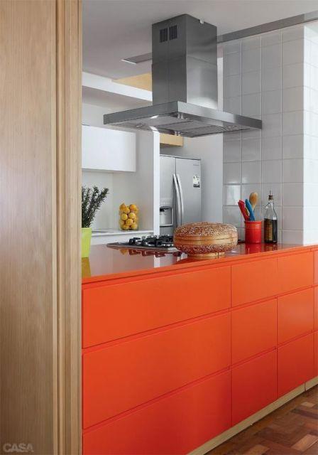 armário colorido