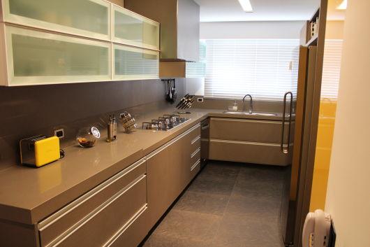 decoração marrom cozinha