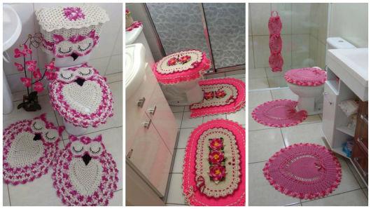 modelos kits banheiro