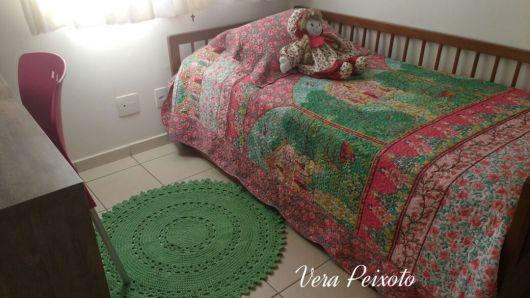 tapete verde decoração