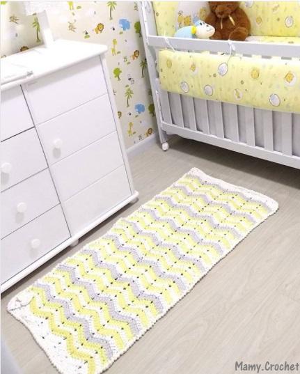passadeira quarto bebê