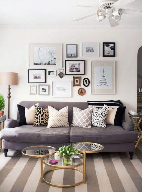Salas modernas decoradas 55 fotos e ideias inspiradoras for Decoracion salas modernas 2016