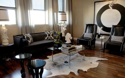 Salas modernas com luxo