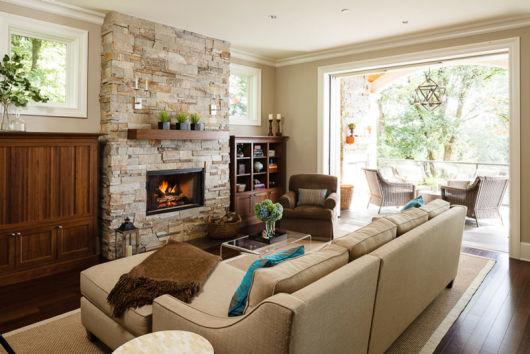 Salas modernas decoradas 55 fotos e ideias inspiradoras Objetos decoracion salon