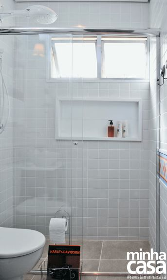 Box para banheiro modelos, preços e dicas! -> Nicho Imbutido Banheiro