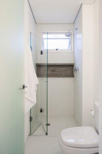 Box para banheiro modelos, preços e dicas! -> Banheiro Pequeno Com Nicho No Box