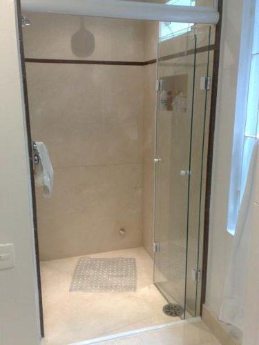 Box para banheiro modelos, preços e dicas! -> Banheiro Pequeno Com Porta Sanfonada