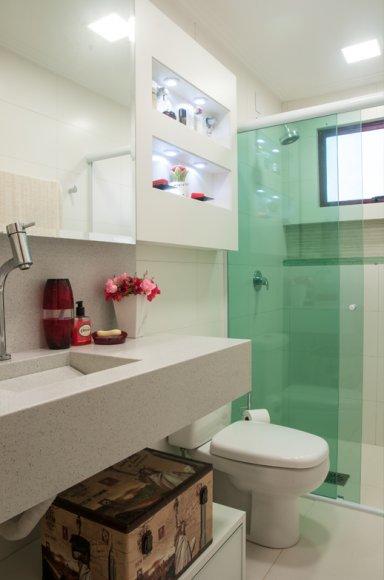 Box para banheiro modelos, preços e dicas! -> Banheiro Com Pastilha Box