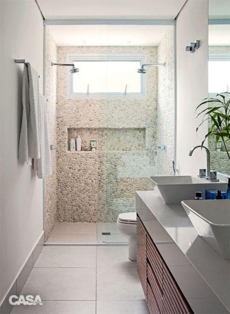 banheiro pequeno casal