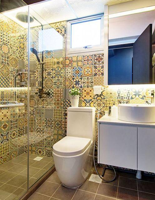Box para banheiro modelos, preços e dicas! -> Banheiro Pequeno Cor Clara