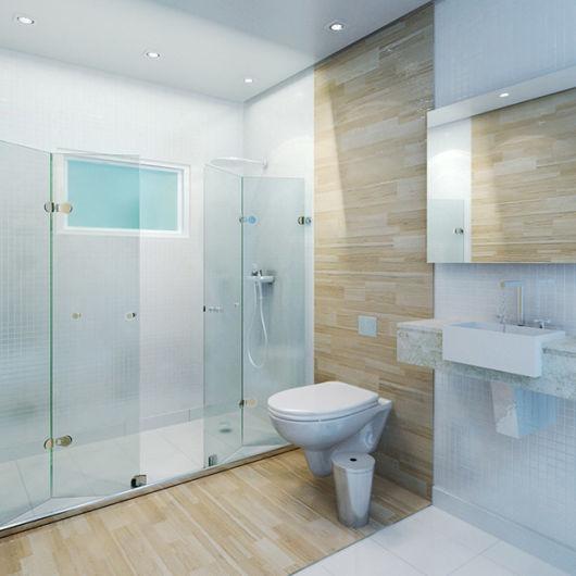Box para banheiro modelos, preços e dicas! -> Banheiro Com Banheira Dimensões
