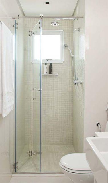 Box para banheiro modelos, preços e dicas! -> Banheiro Comprido E Estreito Com Banheira