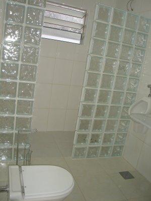 parede tijolo de vidro