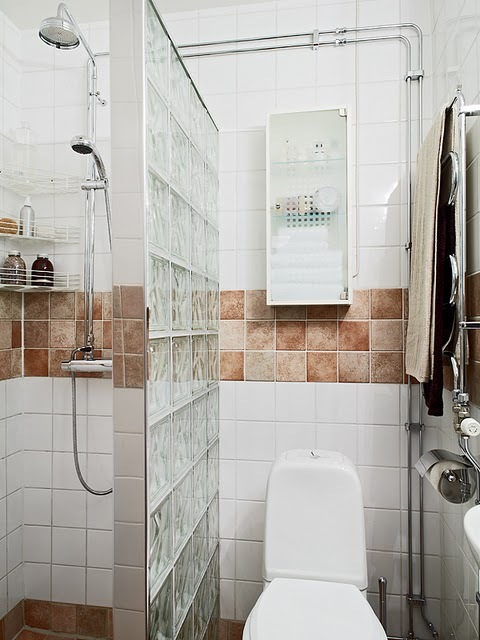 Box para banheiro modelos, preços e dicas! -> Armario De Banheiro Feito De Tijolo De Vidro