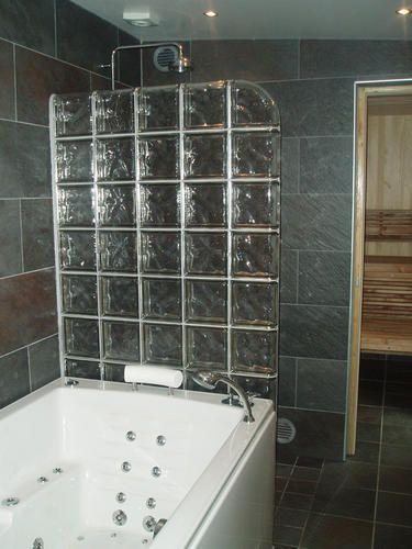 Box para banheiro modelos, preços e dicas! -> Decoracao Com Tijolo De Vidro No Banheiro