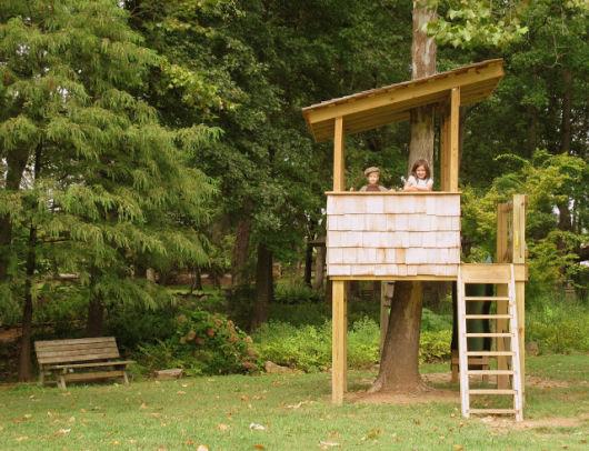 Casa na rvore 60 modelos para adultos e crian as - Casa arbol prades ...