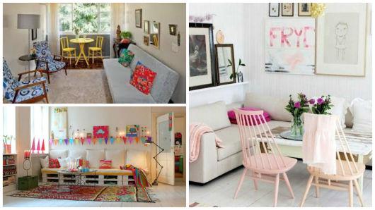 Como decorar uma sala u2013 pequena ou grande 60 ideias!