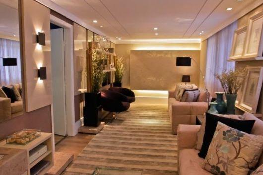 Como Decorar Uma Sala Pequena Com Home Theater ~ Como decorar uma sala – pequena ou grande 60 ideias!