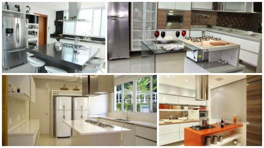 cozinha com cooktop