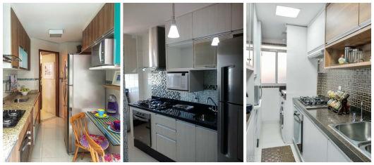 Cozinha planejada pequena projetos, dicas e preço! # Cozinha Pequena Com Duas Cubas