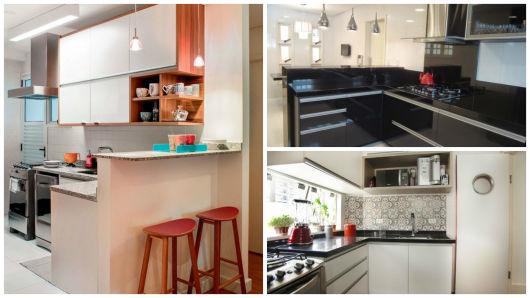 Cozinha planejada pequena projetos, dicas e preço! # Cozinha Pequena Em L