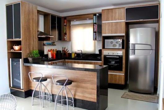 Cozinha planejada pequena projetos, dicas e preço!