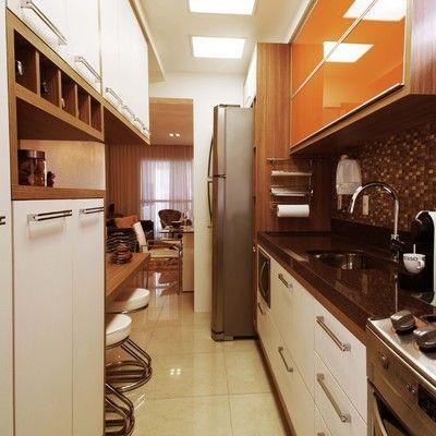 Cozinha planejada pequena projetos dicas e pre o - Armario de 2 50 metros ...
