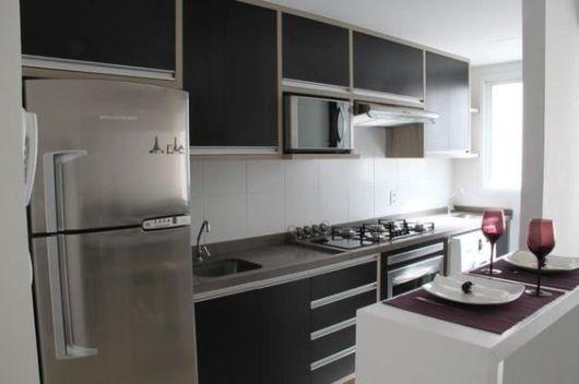 70 Projetos de Cozinha Planejada Pequena Decoração, dicas e preço! -> Quanto Custa Armario De Banheiro Planejado