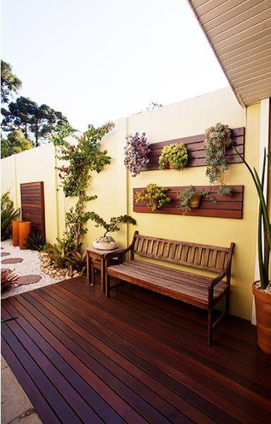 quintal decorado