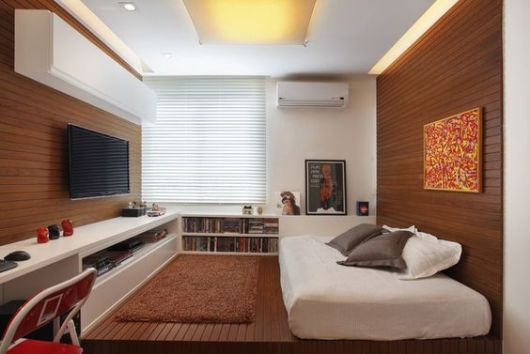 quarto painel madeira
