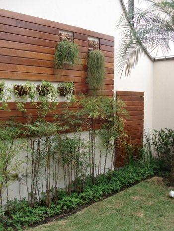 painel de madeira muro