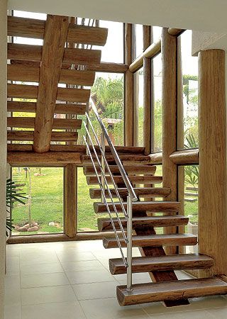 Escada De Madeira 50 Modelos De Projetos E Tipos Sensacionais