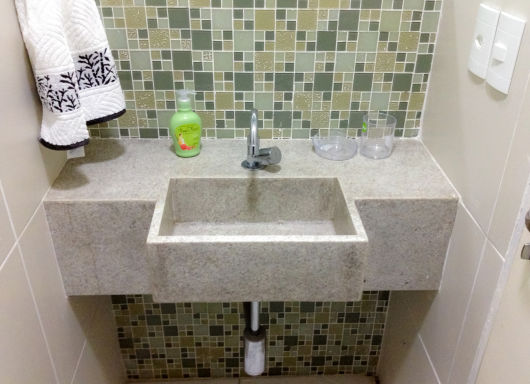 bancada lavabo